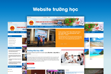 Xây dựng website trường học