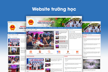 Thiết kế website THCS