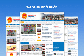 Xây dựng website Sở nội vụ