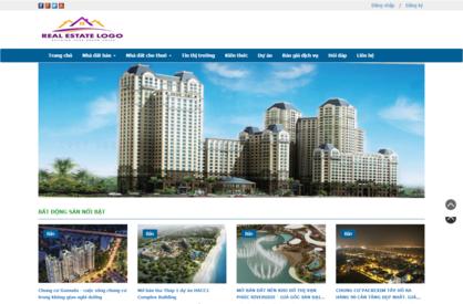 Thiết kế website bất động sản 07