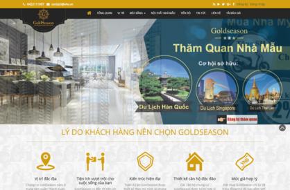Thiết kế website giới thiệu dự án bất động sản 01